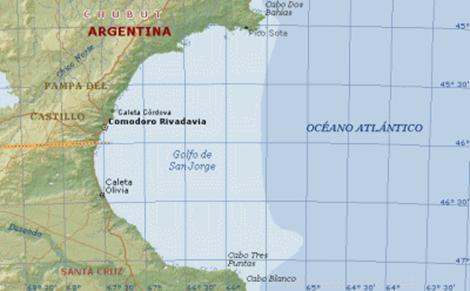 Resultado de imagen de Golfo de San Jorge,